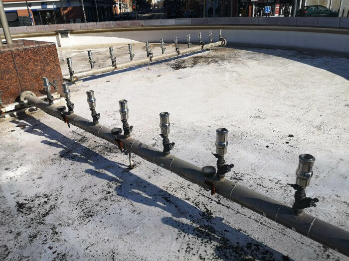 Réfection de fontainerie